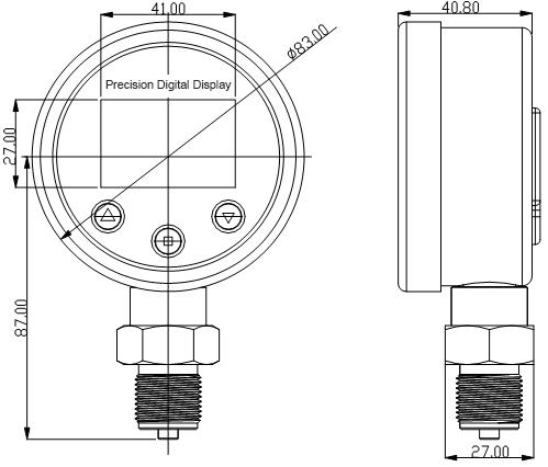 PD-B80-Dimension