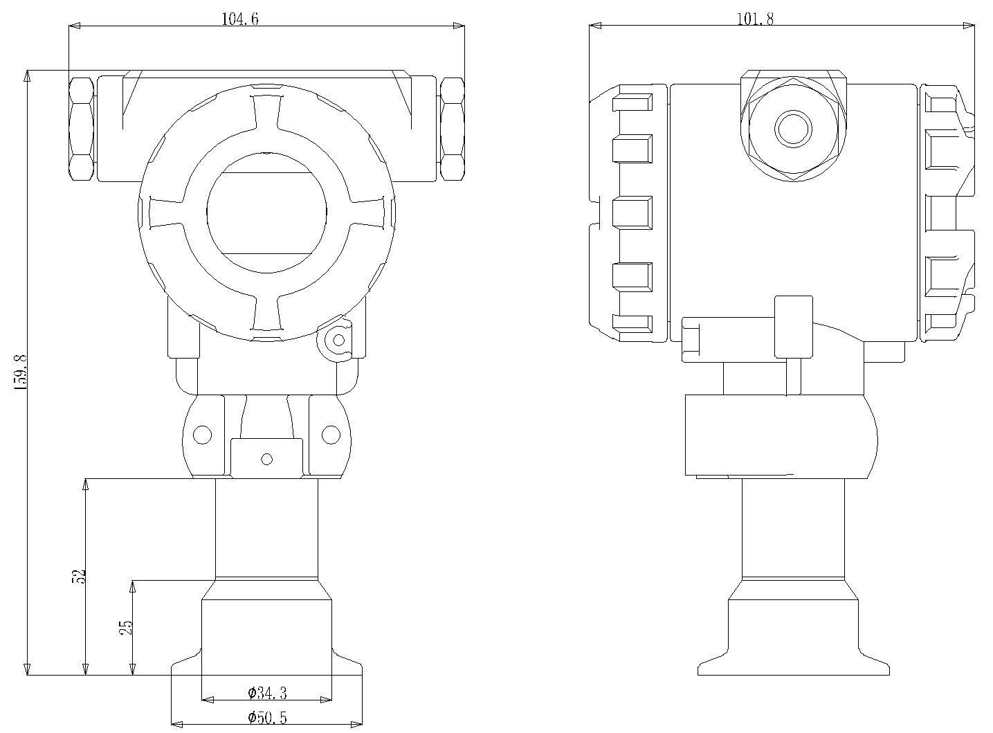 PT-608-dimension